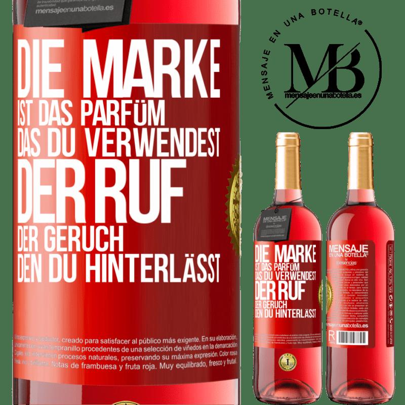 24,95 € Kostenloser Versand | Roséwein ROSÉ Ausgabe Marke ist das Parfüm, das Sie verwenden. Ruf, der Geruch, den du hinterlässt Rote Markierung. Anpassbares Etikett Junger Wein Ernte 2020 Tempranillo