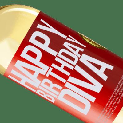 Expresiones Únicas y Personales. «Happy birthday Diva» Edición WHITE