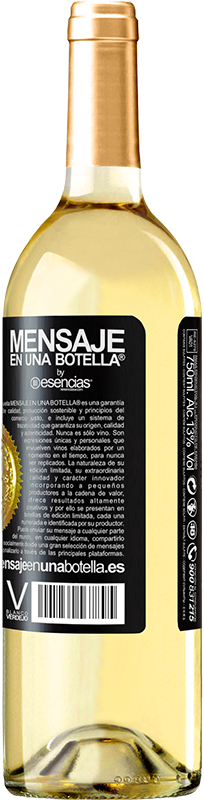 «Innova, porque tienes toda la vida para probar los vinos de toda la vida» Edición WHITE