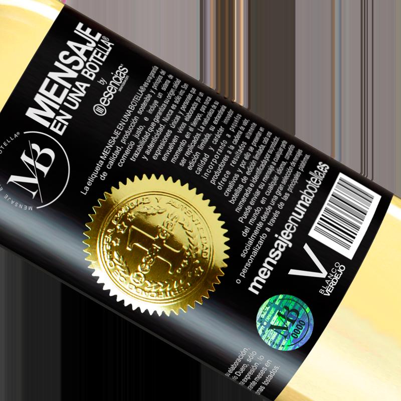 Edición Limitada. «El Vino no cambia quien eres. Sólo lo revela» Edición WHITE