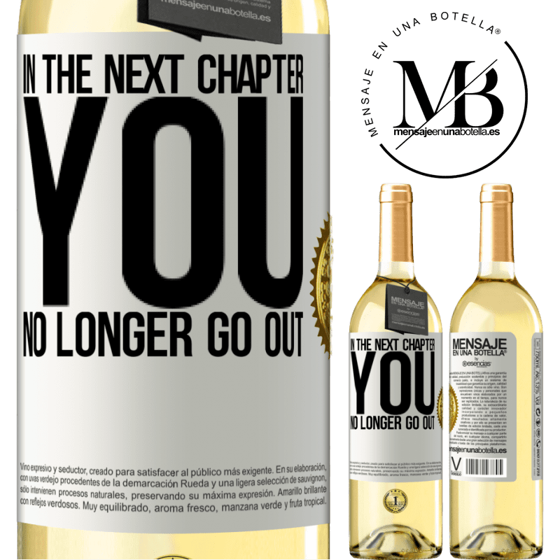24,95 € Free Shipping | White Wine WHITE Edition In the next chapter, you no longer go out White Label. Customizable label Young wine Harvest 2020 Verdejo