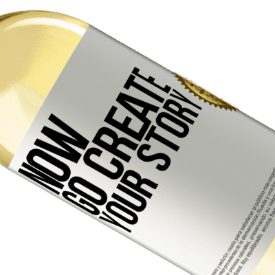 Unique & Personal Expressions. «Now, go create your story» WHITE Edition