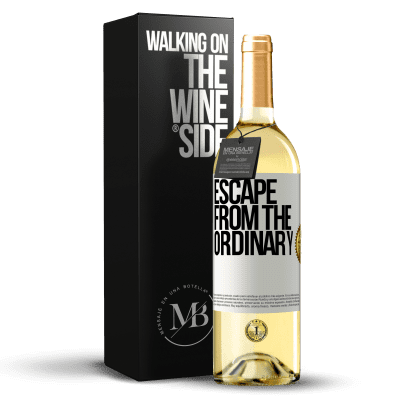 «Escape from the ordinary» WHITE Edition