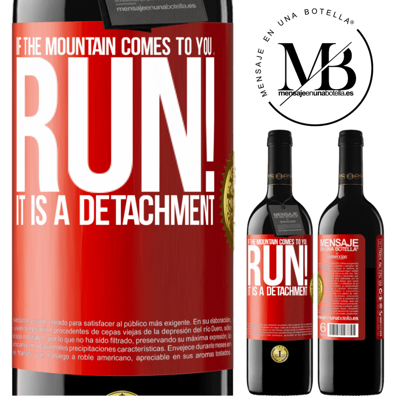24,95 € Free Shipping | Red Wine RED Edition Crianza 6 Months If the mountain comes to you ... Run! It is a detachment Red Label. Customizable label Aging in oak barrels 6 Months Harvest 2018 Tempranillo