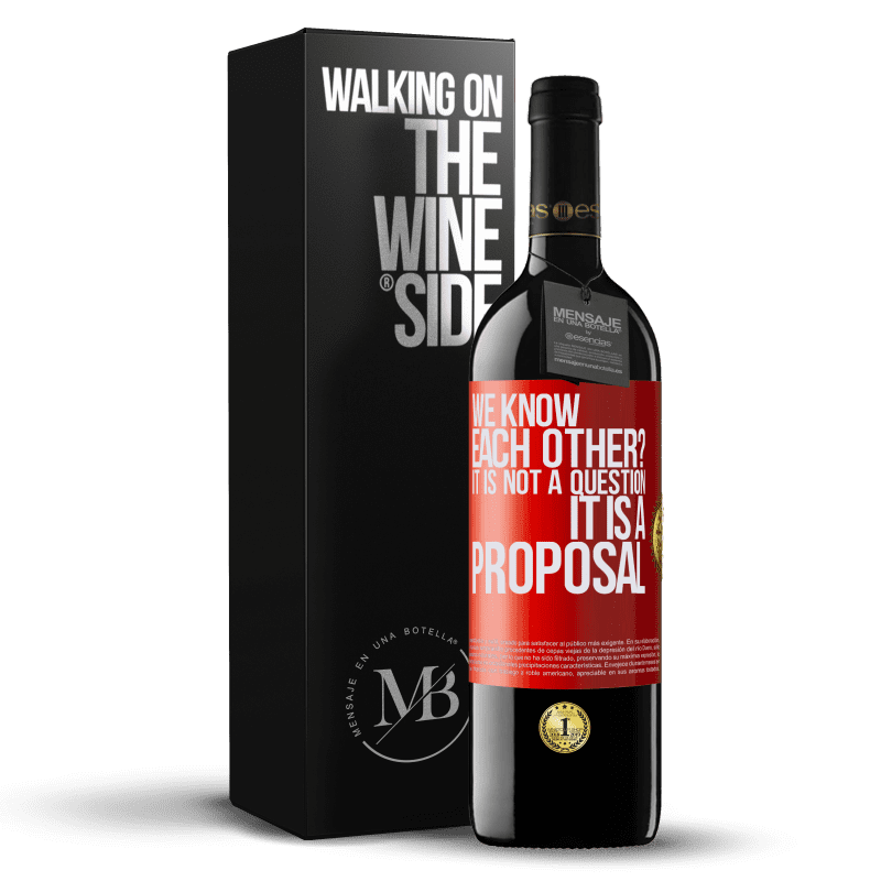 24,95 € Free Shipping | Red Wine RED Edition Crianza 6 Months We know each other? It is not a question, it is a proposal Red Label. Customizable label Aging in oak barrels 6 Months Harvest 2018 Tempranillo