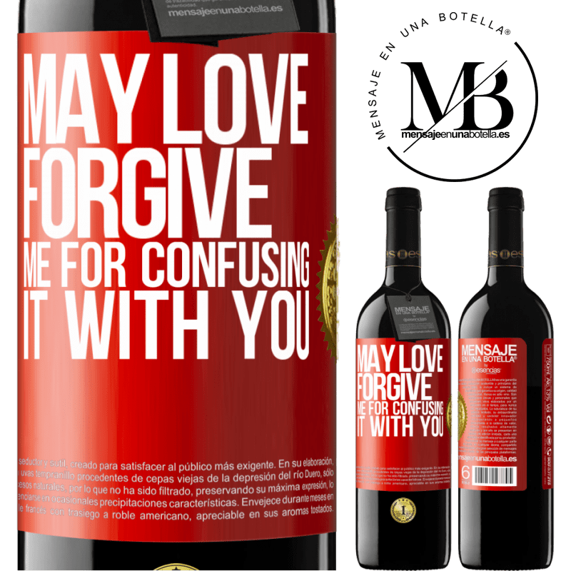 24,95 € Free Shipping | Red Wine RED Edition Crianza 6 Months May love forgive me for confusing it with you Red Label. Customizable label Aging in oak barrels 6 Months Harvest 2018 Tempranillo
