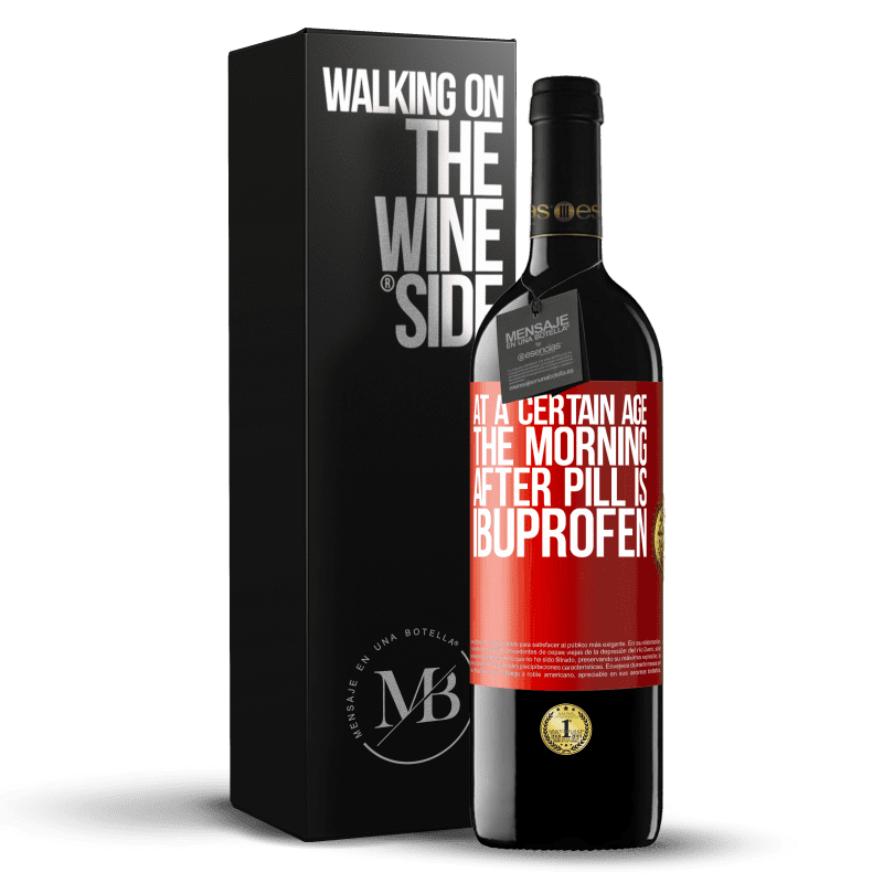 24,95 € Free Shipping | Red Wine RED Edition Crianza 6 Months At a certain age, the morning after pill is ibuprofen Red Label. Customizable label Aging in oak barrels 6 Months Harvest 2018 Tempranillo