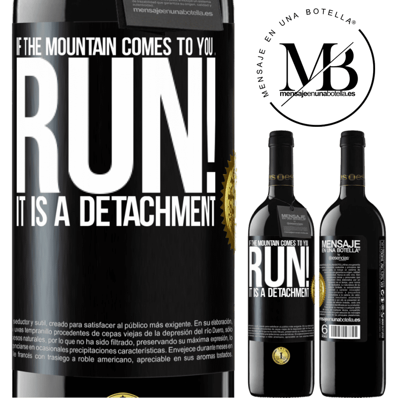 24,95 € Free Shipping | Red Wine RED Edition Crianza 6 Months If the mountain comes to you ... Run! It is a detachment Black Label. Customizable label Aging in oak barrels 6 Months Harvest 2018 Tempranillo