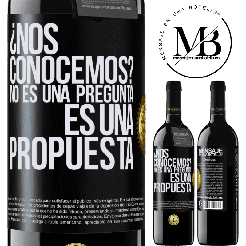 24,95 € Free Shipping | Red Wine RED Edition Crianza 6 Months We know each other? It is not a question, it is a proposal Black Label. Customizable label Aging in oak barrels 6 Months Harvest 2018 Tempranillo