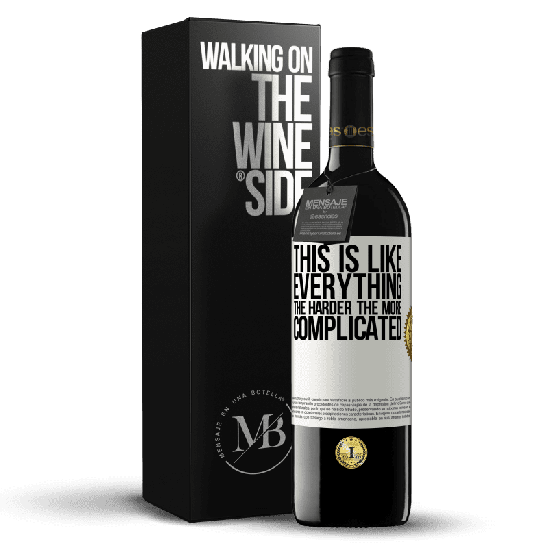 24,95 € Free Shipping | Red Wine RED Edition Crianza 6 Months This is like everything, the harder, the more complicated White Label. Customizable label Aging in oak barrels 6 Months Harvest 2018 Tempranillo