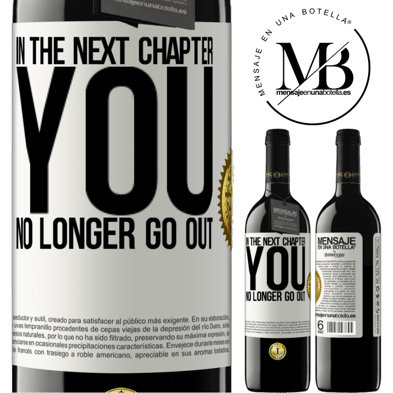 24,95 € Free Shipping | Red Wine RED Edition Crianza 6 Months In the next chapter, you no longer go out White Label. Customizable label Aging in oak barrels 6 Months Harvest 2018 Tempranillo