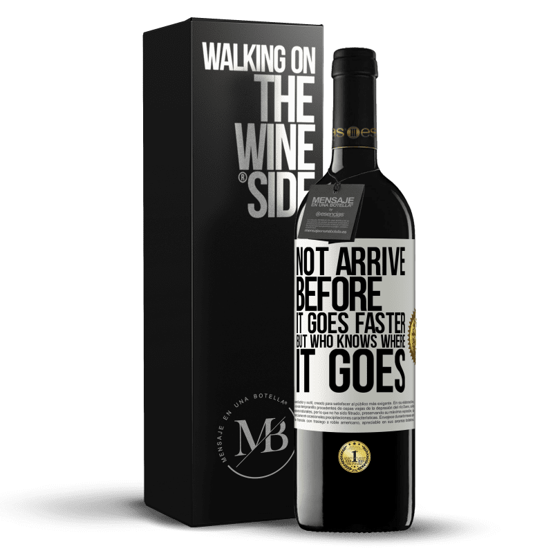 24,95 € Free Shipping   Red Wine RED Edition Crianza 6 Months Not arrive before it goes faster, but who knows where it goes White Label. Customizable label Aging in oak barrels 6 Months Harvest 2018 Tempranillo