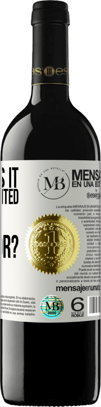 «what was it that we wanted to be great for?» RED Edition Crianza 6 Months