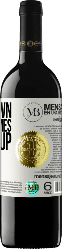 «Falldown seven times. Stand up eight» RED Edition Crianza 6 Months