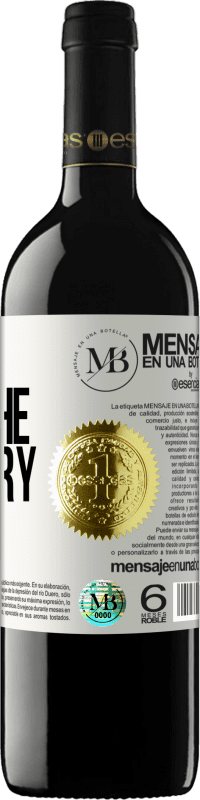 «Escape from the ordinary» RED Edition Crianza 6 Months