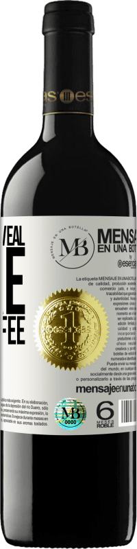 «Memories reveal more than coffee» RED Edition Crianza 6 Months