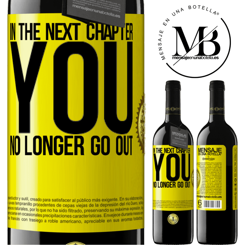 24,95 € Free Shipping | Red Wine RED Edition Crianza 6 Months In the next chapter, you no longer go out Yellow Label. Customizable label Aging in oak barrels 6 Months Harvest 2018 Tempranillo