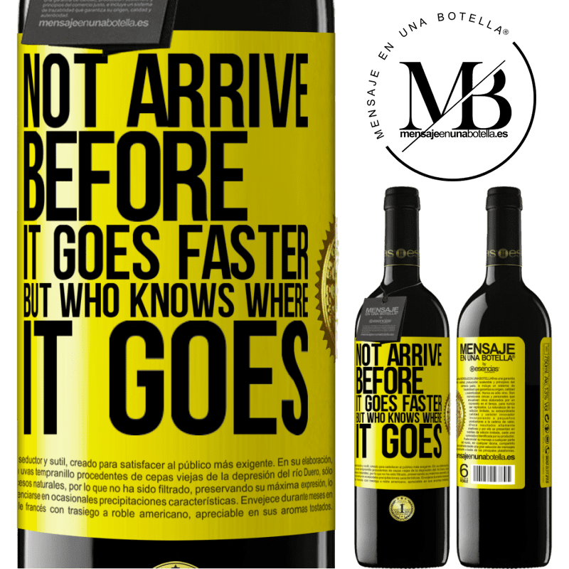24,95 € Free Shipping   Red Wine RED Edition Crianza 6 Months Not arrive before it goes faster, but who knows where it goes Yellow Label. Customizable label Aging in oak barrels 6 Months Harvest 2018 Tempranillo