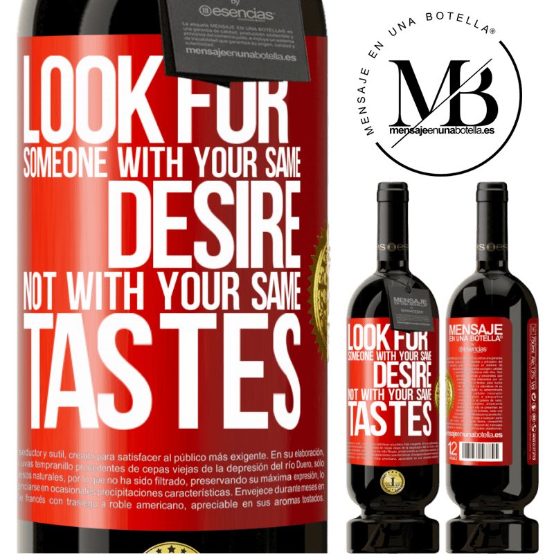 29,95 € Free Shipping | Red Wine Premium Edition MBS® Reserva Look for someone with your same desire, not with your same tastes Red Label. Customizable label Reserva 12 Months Harvest 2013 Tempranillo