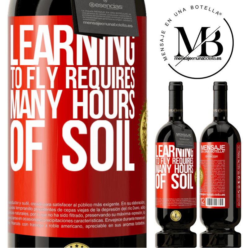 29,95 € Free Shipping | Red Wine Premium Edition MBS® Reserva Learning to fly requires many hours of soil Red Label. Customizable label Reserva 12 Months Harvest 2013 Tempranillo