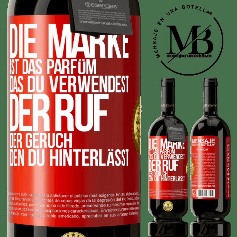 29,95 € Kostenloser Versand   Rotwein Premium Edition MBS® Reserva Marke ist das Parfüm, das Sie verwenden. Ruf, der Geruch, den du hinterlässt Rote Markierung. Anpassbares Etikett Reserva 12 Monate Ernte 2013 Tempranillo