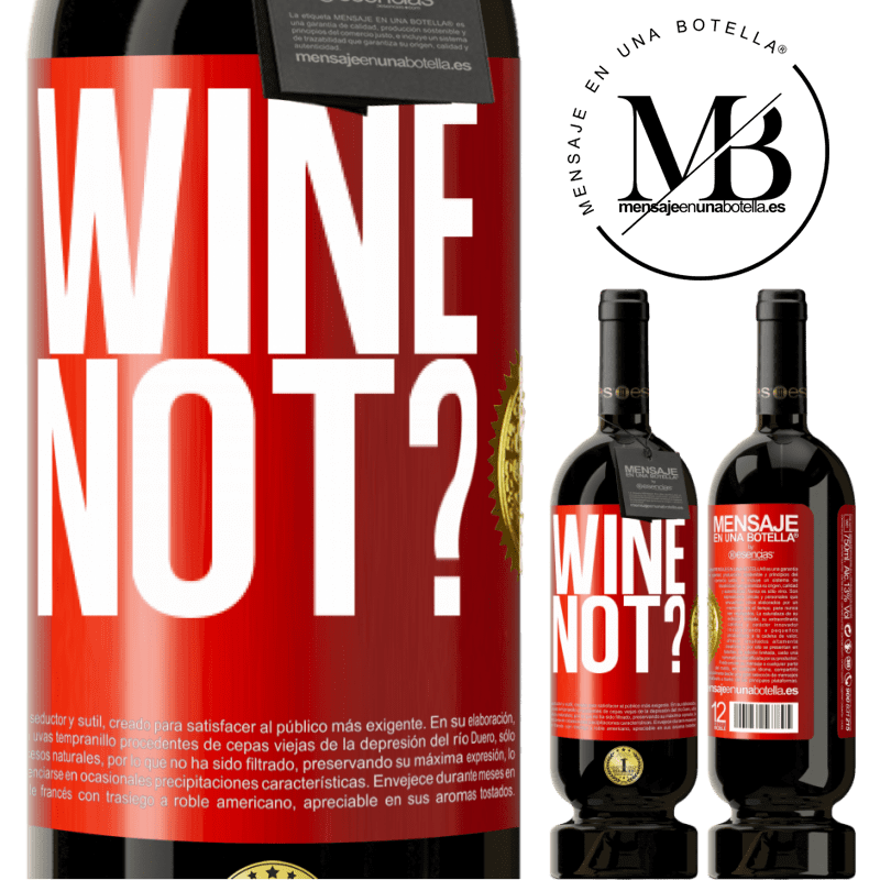 29,95 € Free Shipping | Red Wine Premium Edition MBS® Reserva Wine not? Red Label. Customizable label Reserva 12 Months Harvest 2013 Tempranillo