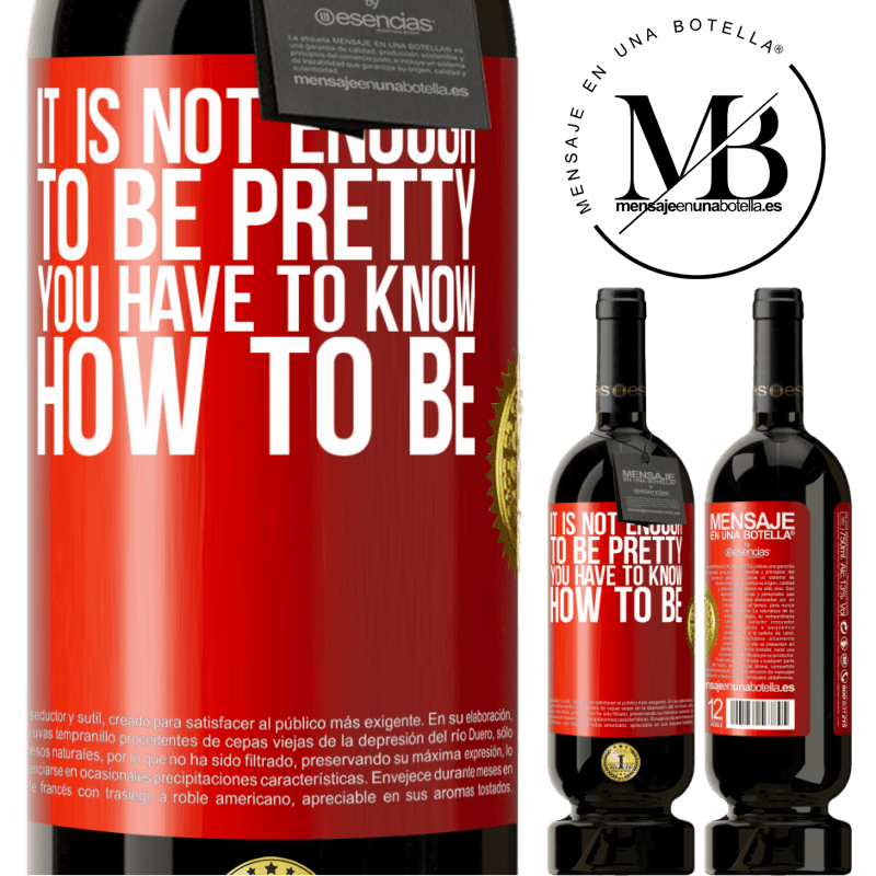 29,95 € Free Shipping | Red Wine Premium Edition MBS® Reserva It is not enough to be pretty. You have to know how to be Red Label. Customizable label Reserva 12 Months Harvest 2013 Tempranillo