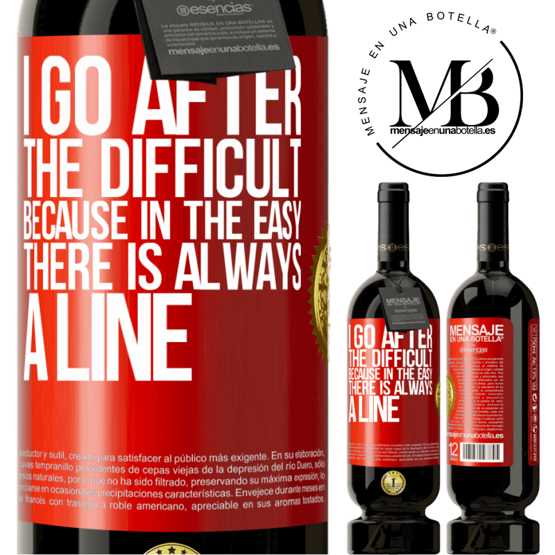 29,95 € Free Shipping | Red Wine Premium Edition MBS® Reserva I go after the difficult, because in the easy there is always a line Red Label. Customizable label Reserva 12 Months Harvest 2013 Tempranillo