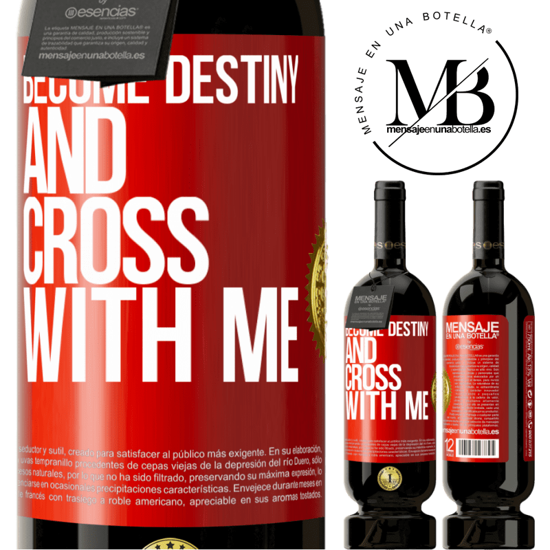 29,95 € Free Shipping | Red Wine Premium Edition MBS® Reserva Become destiny and cross with me Red Label. Customizable label Reserva 12 Months Harvest 2013 Tempranillo