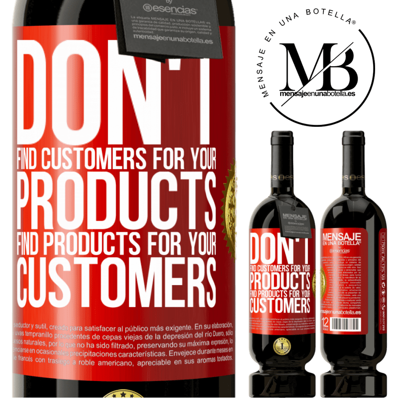 29,95 € Free Shipping | Red Wine Premium Edition MBS® Reserva Don't find customers for your products, find products for your customers Red Label. Customizable label Reserva 12 Months Harvest 2013 Tempranillo