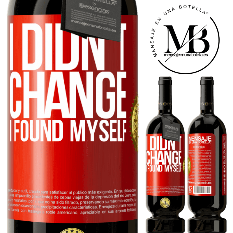 29,95 € Free Shipping | Red Wine Premium Edition MBS® Reserva Do not change. I found myself Red Label. Customizable label Reserva 12 Months Harvest 2013 Tempranillo