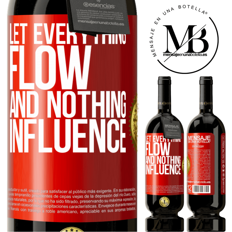29,95 € Free Shipping | Red Wine Premium Edition MBS® Reserva Let everything flow and nothing influence Red Label. Customizable label Reserva 12 Months Harvest 2013 Tempranillo