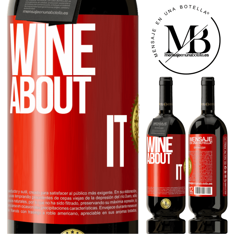 29,95 € Free Shipping | Red Wine Premium Edition MBS® Reserva Wine about it Red Label. Customizable label Reserva 12 Months Harvest 2013 Tempranillo