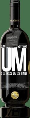 29,95 € Envio grátis | Vinho tinto Edição Premium MBS® Reserva ¿Quantos anos eu tenho? UM. Os outros já os tinham Etiqueta Preta. Etiqueta personalizável Reserva 12 Meses Colheita 2013 Tempranillo