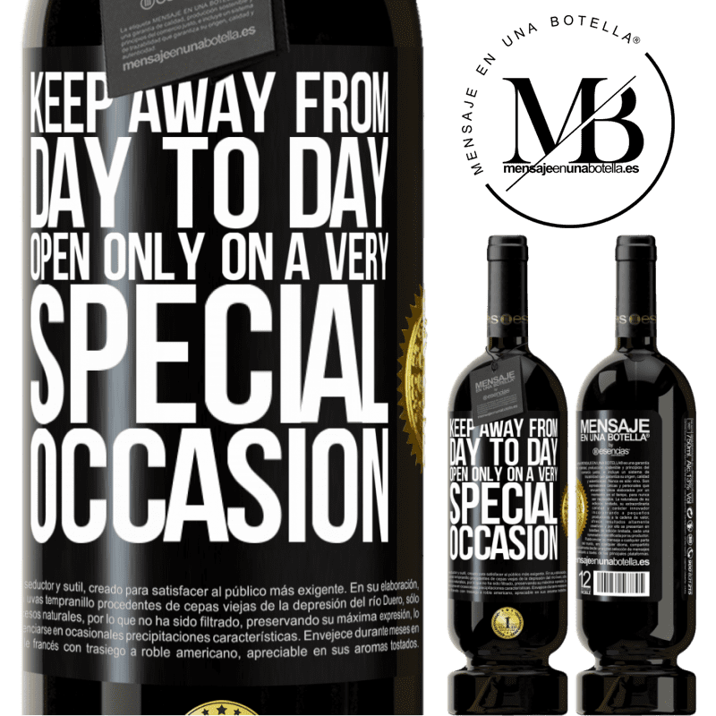 29,95 € Free Shipping | Red Wine Premium Edition MBS® Reserva Keep away from day to day. Open only on a very special occasion Black Label. Customizable label Reserva 12 Months Harvest 2013 Tempranillo