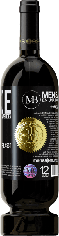 «Marke ist das Parfüm, das Sie verwenden. Ruf, der Geruch, den du hinterlässt» Premium Edition MBS® Reserva