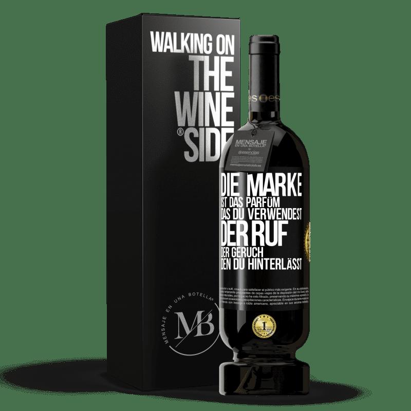 29,95 € Kostenloser Versand   Rotwein Premium Edition MBS® Reserva Marke ist das Parfüm, das Sie verwenden. Ruf, der Geruch, den du hinterlässt Schwarzes Etikett. Anpassbares Etikett Reserva 12 Monate Ernte 2013 Tempranillo