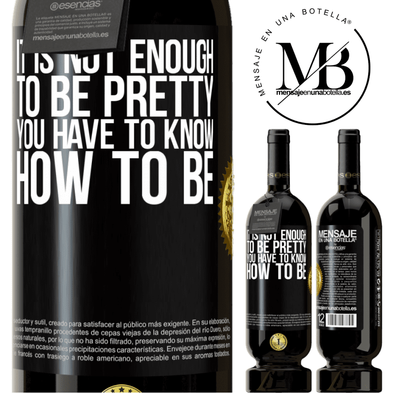 29,95 € Free Shipping | Red Wine Premium Edition MBS® Reserva It is not enough to be pretty. You have to know how to be Black Label. Customizable label Reserva 12 Months Harvest 2013 Tempranillo
