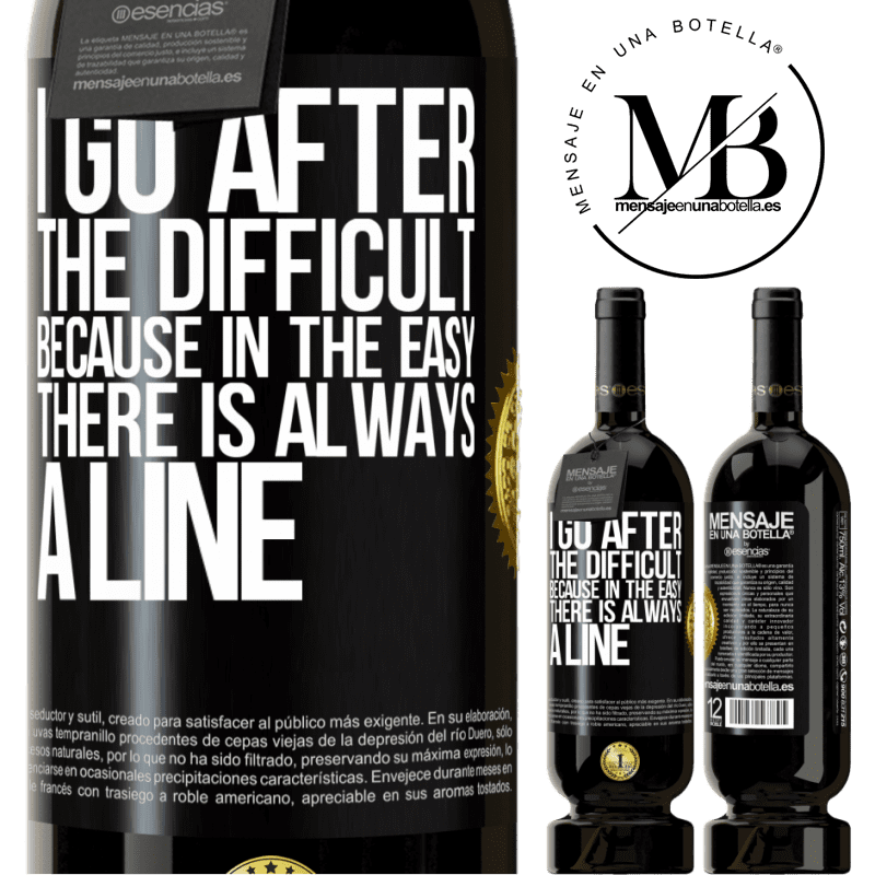 29,95 € Free Shipping | Red Wine Premium Edition MBS® Reserva I go after the difficult, because in the easy there is always a line Black Label. Customizable label Reserva 12 Months Harvest 2013 Tempranillo