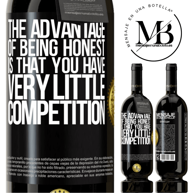 29,95 € Free Shipping | Red Wine Premium Edition MBS® Reserva The advantage of being honest is that you have very little competition Black Label. Customizable label Reserva 12 Months Harvest 2013 Tempranillo