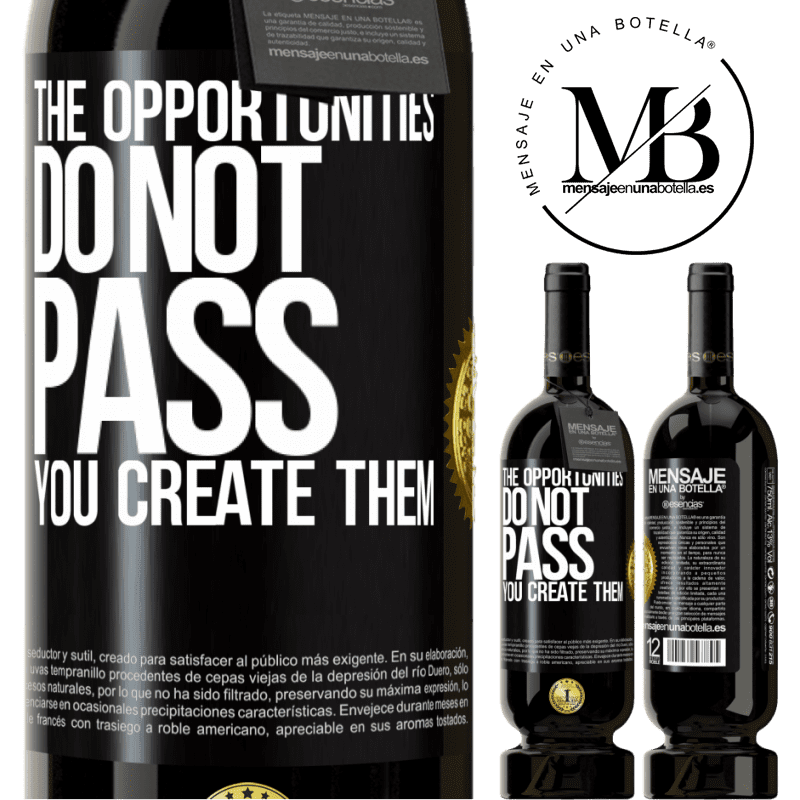 29,95 € Free Shipping | Red Wine Premium Edition MBS® Reserva The opportunities do not pass. You create them Black Label. Customizable label Reserva 12 Months Harvest 2013 Tempranillo