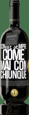 29,95 € Spedizione Gratuita   Vino rosso Edizione Premium MBS® Reserva Con te sempre come mai con chiunque Etichetta Nera. Etichetta personalizzabile Reserva 12 Mesi Raccogliere 2013 Tempranillo