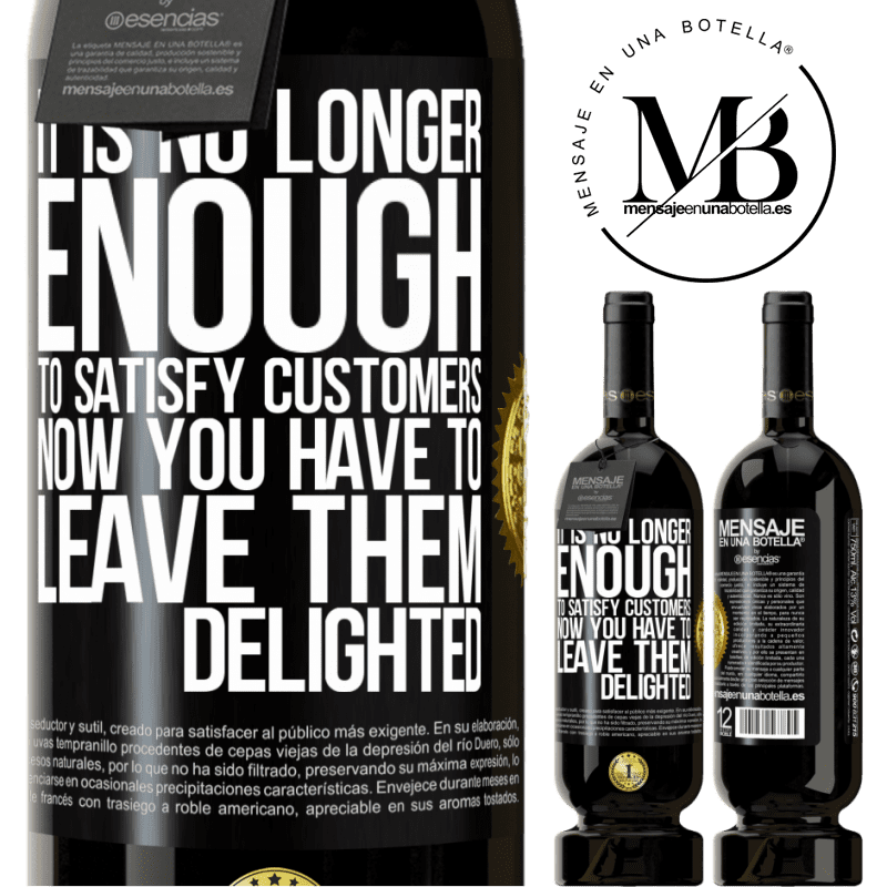29,95 € Free Shipping | Red Wine Premium Edition MBS® Reserva It is no longer enough to satisfy customers. Now you have to leave them delighted Black Label. Customizable label Reserva 12 Months Harvest 2013 Tempranillo