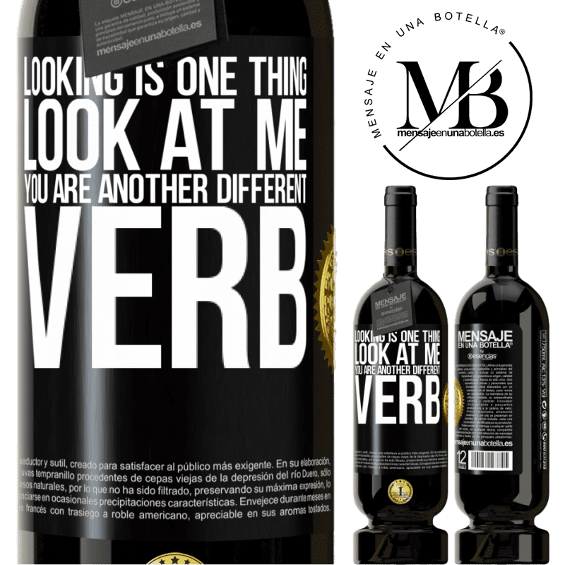 29,95 € Free Shipping | Red Wine Premium Edition MBS® Reserva Looking is one thing. Look at me, you are another different verb Black Label. Customizable label Reserva 12 Months Harvest 2013 Tempranillo