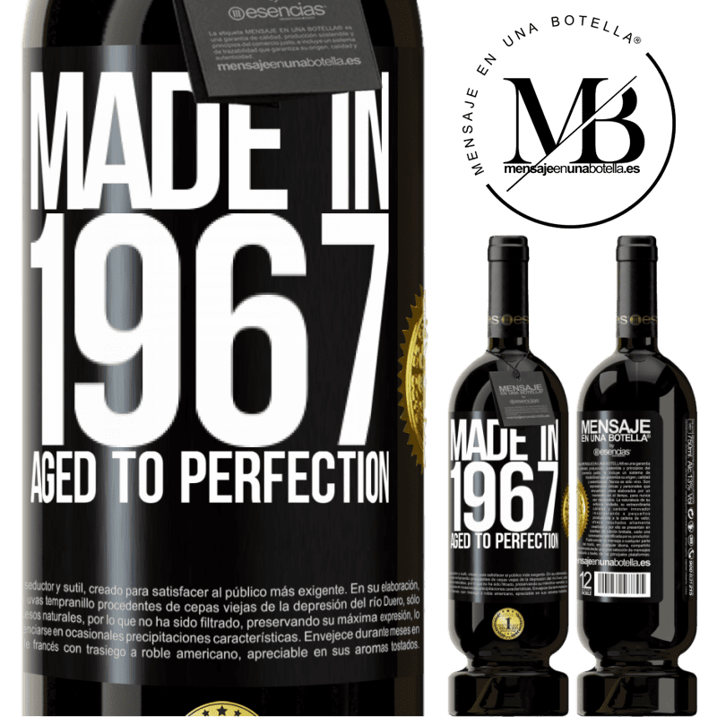 29,95 € Free Shipping | Red Wine Premium Edition MBS® Reserva Made in 1967. Aged to perfection Black Label. Customizable label Reserva 12 Months Harvest 2013 Tempranillo