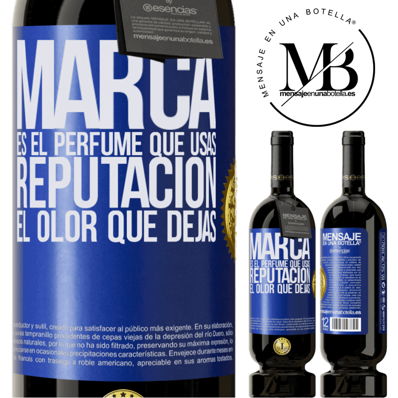 29,95 € Free Shipping | Red Wine Premium Edition MBS® Reserva Brand is the perfume you use. Reputation, the smell you leave Blue Label. Customizable label Reserva 12 Months Harvest 2013 Tempranillo
