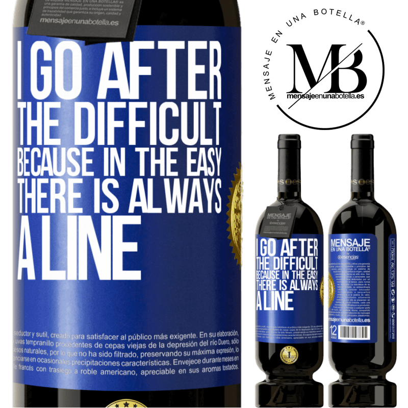 29,95 € Free Shipping | Red Wine Premium Edition MBS® Reserva I go after the difficult, because in the easy there is always a line Blue Label. Customizable label Reserva 12 Months Harvest 2013 Tempranillo