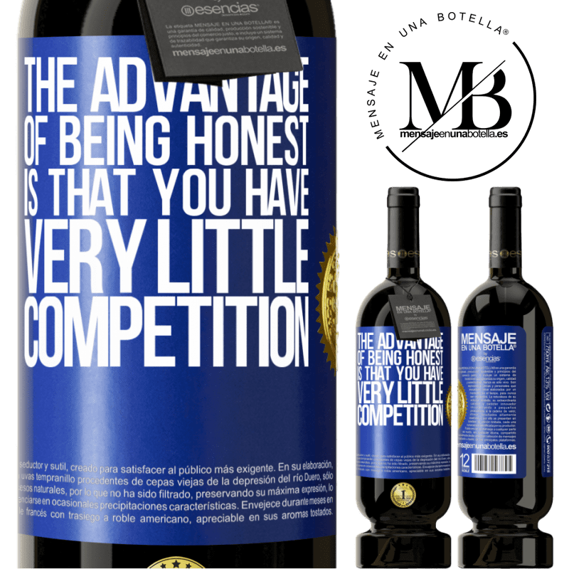 29,95 € Free Shipping | Red Wine Premium Edition MBS® Reserva The advantage of being honest is that you have very little competition Blue Label. Customizable label Reserva 12 Months Harvest 2013 Tempranillo