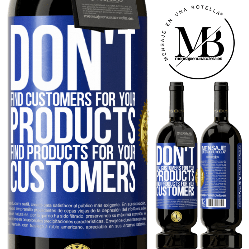 29,95 € Free Shipping | Red Wine Premium Edition MBS® Reserva Don't find customers for your products, find products for your customers Blue Label. Customizable label Reserva 12 Months Harvest 2013 Tempranillo