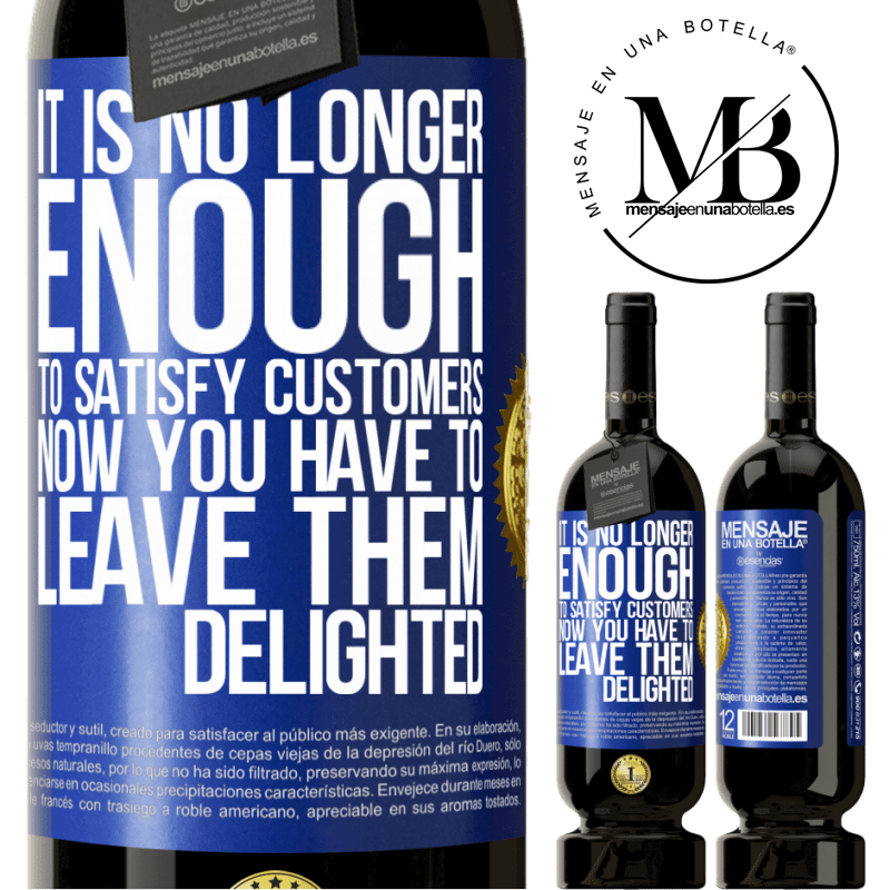 29,95 € Free Shipping | Red Wine Premium Edition MBS® Reserva It is no longer enough to satisfy customers. Now you have to leave them delighted Blue Label. Customizable label Reserva 12 Months Harvest 2013 Tempranillo